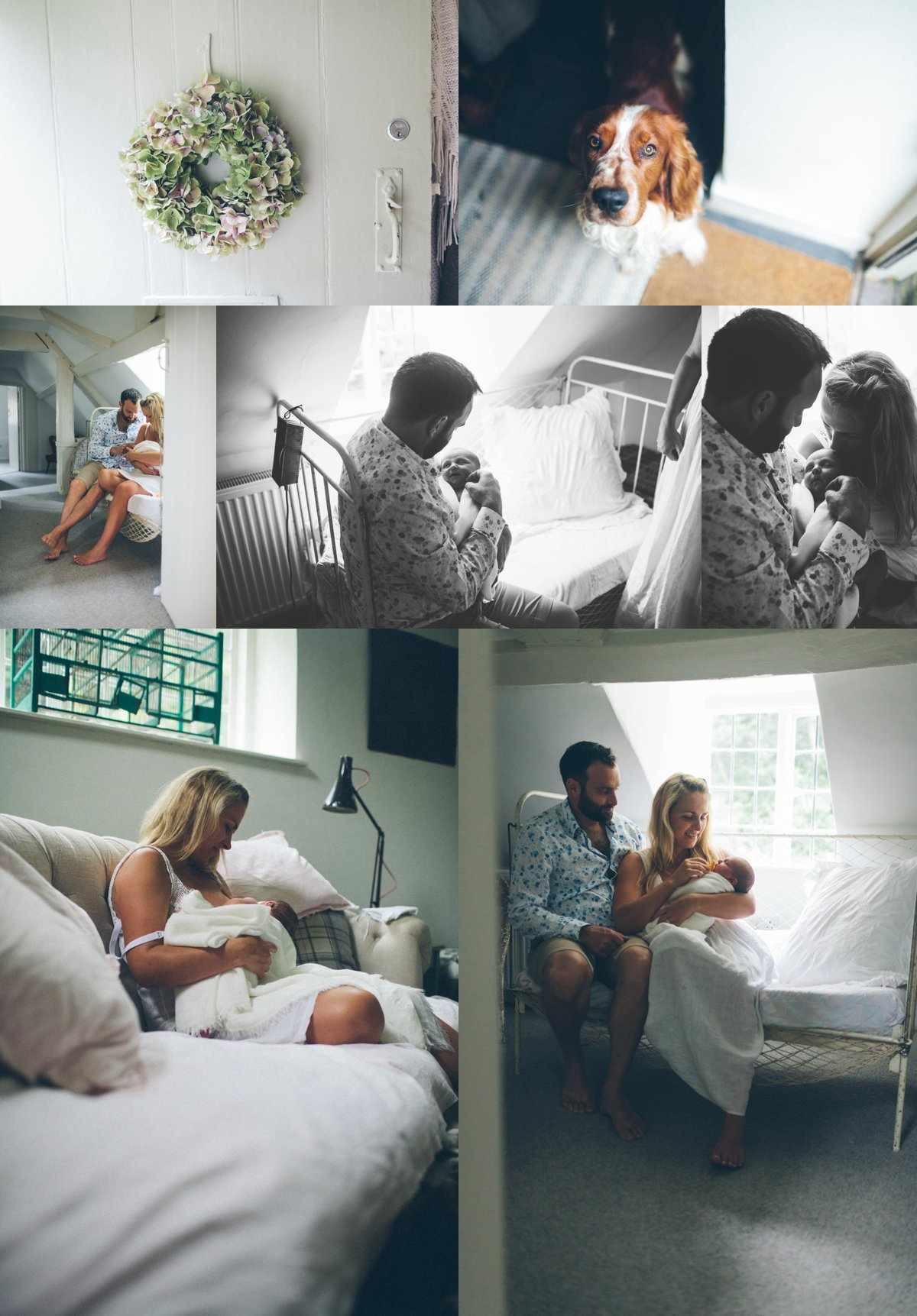 Newborn Lifestyle Session Abigail Fahey
