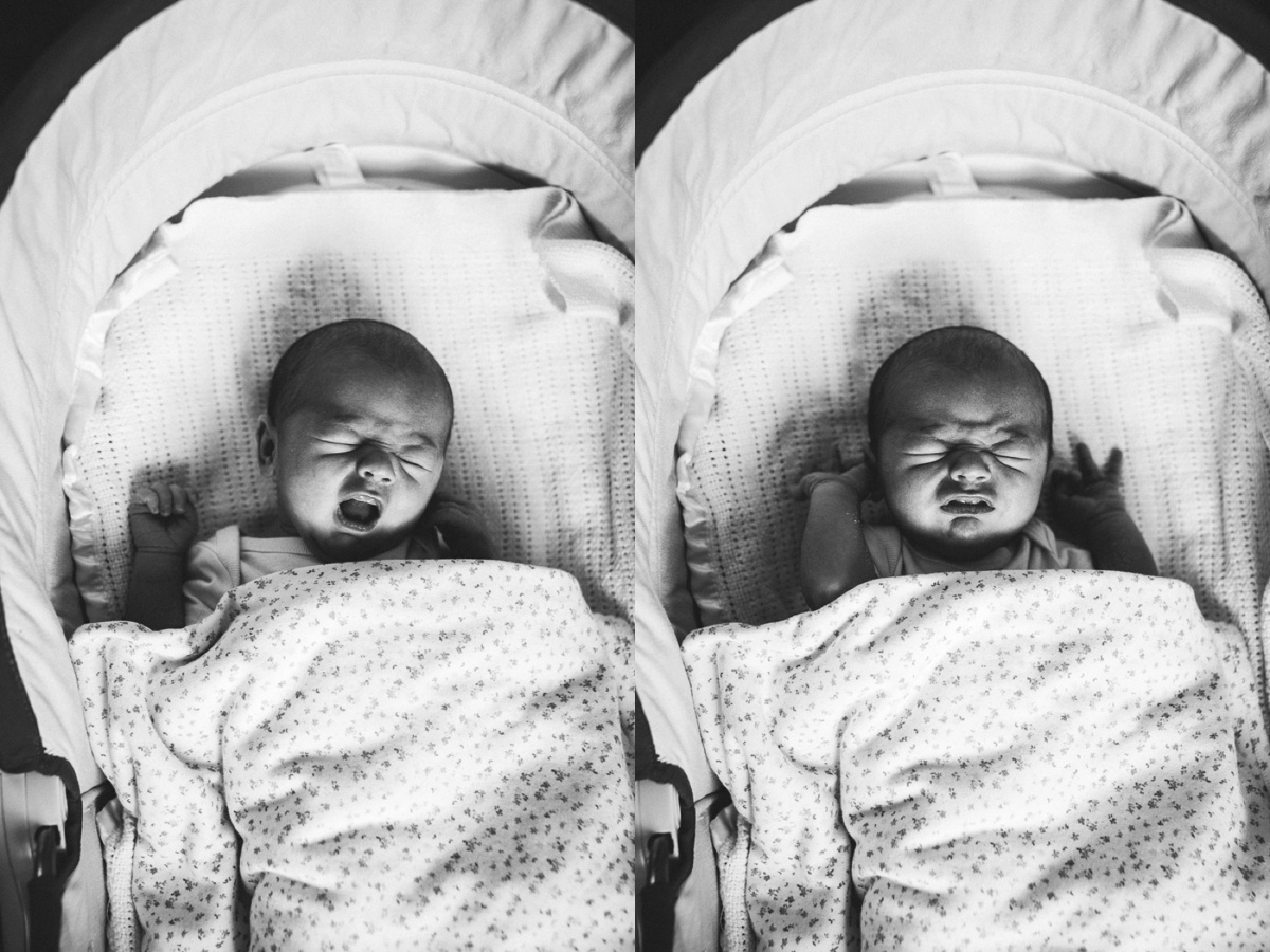 Newborn Baby Sleeping Photo Abigail Fahey Photography