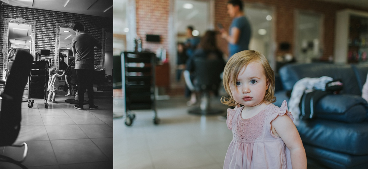 Busby and Blue Wedding Hair Chichester